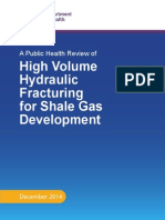 High Volume Hydraulic Fracturing