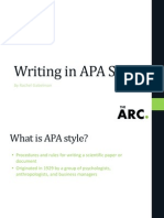 Redacción tipo APA