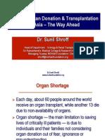 Cadaver Organ Donation