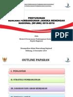 Penyusunan RPJMN 2015-2019