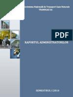 Raport Administratori Semestru I 2014