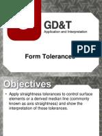 Lecture 5- Form Tolerances
