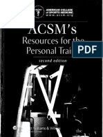 ACSM's Resources for the Personal Trainer, 2nd Edition [2007]