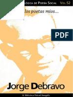 Cuaderno de Poesia Critica n 52 Jorge Debravo