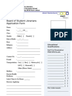 MBSSKL BOSL Application Form