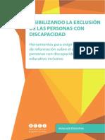 Visibilizando la exclusión de las personas con discapacidad