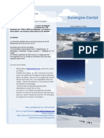 Sejour Le Clou - Monts Du Cantal 2014-2015 - Ski - Randonne - Raquettes - Auvergne - Last MInute