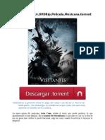 Visitantes.2014.DVDRip.pelicula.mexicana.torrent