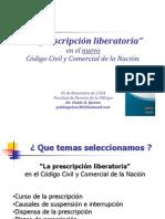 La Prescripción en El Código Unificado - Pablo Quiros - Derecho de Las Obligaciones