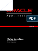 Usando o Oracle Wf Builder