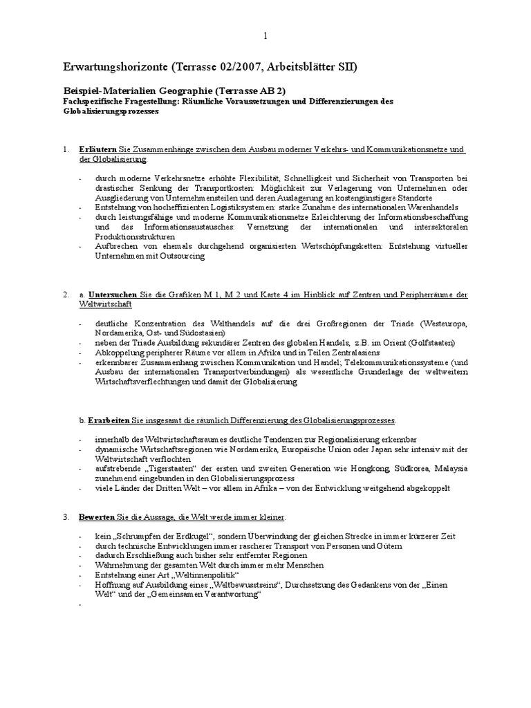 Erwartungshorizonte SII (1)
