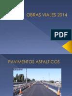 OBRAS VIALES 2014