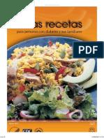 03 Ricas Recetas Para Diabeticos y Familiares