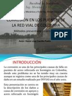 Corrosión en Los Puentes de La Red Vial