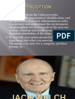 Perception Change