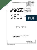 Nikon F90X Repair Manual