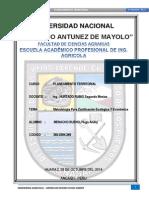 Metodologia Para La Zonificacion Ecologica y Economica