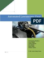 Final Report Lawn Bot