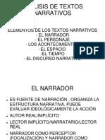 Analisis de Textos Narrativos