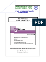 Manual Del Ms Access