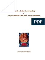Towards a Better Understanding of Early Atraumatic Brain Injury