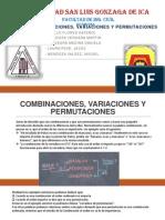 Combinaciones,Variaciones y Permutaciones