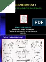 Praktikum Neuroembriologi i Modul Neurosain Unpar 2014