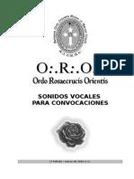 Sonidos Vocales (ORO)