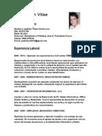 Curriculum Vitae Pablo Luna CDE