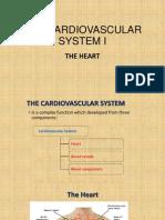 The Cardiovascular System i