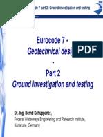 EUROCODE 7- GEOTECHNICAL DESIGN