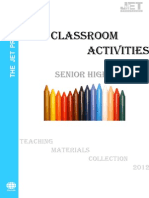 6classroom Activities Shs