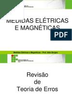 Apresentau00E7u00E3o Medidas Eletricas e Magneticas