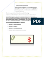 Subsistemas Organizacionales Marketing