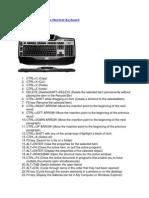 100 Cara Menggunakan Shortcut Keyboard