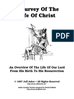 Survey of the Life of Christ Padfield
