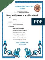 Bases Biofisicas de La Presion Arterial Finallll