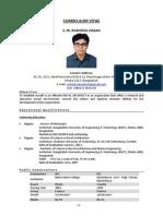 CV of Naval Architect S.M. Rashidul Hasan