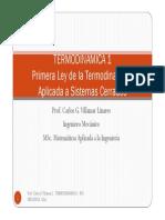 Tema 4 1ra Ley Sistema Cerrado TERMO 1