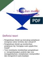 Teori Dan Model Keperawatan