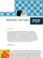 oedipus the king final