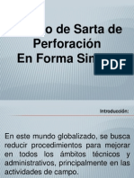 DISEÑO DE SARTA