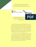 Convocatoria Primer Congreso Internacional Guamán Poma