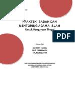 Buku PI Dan Mentoring UP3AI Unsyiah 2014