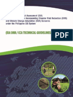 DENR DRR-CCA EIA Technical Guidelines