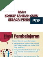 20140921160920Bab 2 - Konsep Sahsiah Guru Sebagai Pendidik