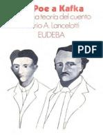 De Poe a Kafka Una Teoria Sobre El Cuento