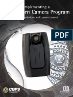 Implementing a Body-worn Camera Program