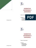 Diptico Domino