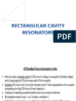 Electromagnetic Theory-Rectangular Cavity